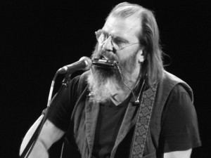 steve earle in Liverpool. August 2014. Photograph by Ian D. Hall.
