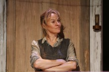 Niamh Cusack in June and the Paycock at the Liverpool Playhouse Theatre. Photograph by Stephen Vaughan.