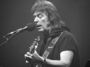 Steve Hackett at the Liverpool Philharmonic Hall. October 2015. Photograph by Ian D. Hall