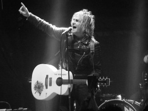 The Alarm's Mike Peters at the 02 Academy, Newcastle, 2016. Photograph by Ian D. Hall.