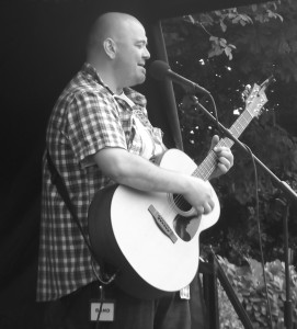 Pod Cousins performing in Bootle, July 2016. Photograph by Ian D. Hall.